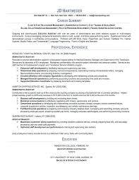 Qualifications Summary Resume Example Sample Professional Summary
