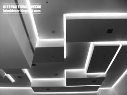 false ceiling pop designs with led lighting ideas 2016
