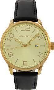 <b>Часы Romanson TL8250BMG</b>(<b>GD</b>) - купить <b>мужские</b> наручные ...