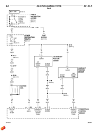 need hardcore troubleshooting mechanic s help jeep cherokee forum here s a diagram of the 97 xj ignition coil circuit