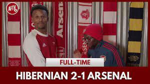 Hibernian 2-1 Arsenal