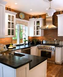 Modern Kitchen Backsplash modern brick backsplash kitchen ideas 2069 by uwakikaiketsu.us