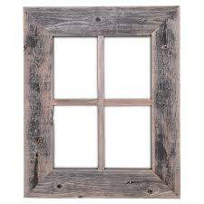 Amazon.com: Old Rustic Window Barnwood Frames - Not For Pictures by Rustic  Decor: Home & Kitchen
