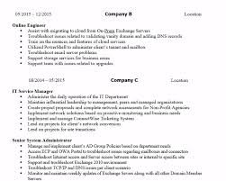 How To Write A Systems Network Engineer Resume With