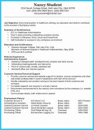 Examples Of Well Written Resumes Example Of How To Make A Good
