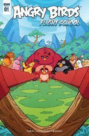 Read online Angry Birds: Flight School comic - Issue #1