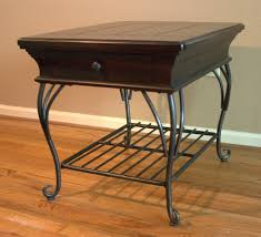 Wrought Iron Living Room Furniture Wood Metal And Glass Coffee Table Coffee Tablecoffee Table In