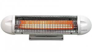 electric heaters oil column panel fan ceramic radiant more kambrook 1000w strip radiant heater