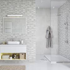 marmo mosaic bathroom panels the