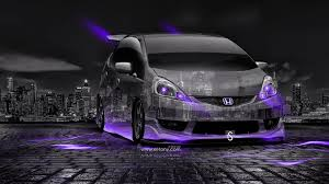 honda fit rs jdm tuning crystal city car