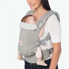 Adapt Baby Carrier - Best Carrier for Newborn - Grey | Ergobaby