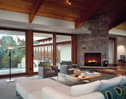 contemporary living room with corner fireplace. Full Image Living Room Interesting Cabinet Corner Fascinating Square Tray Ceiling Contemporary Pictures Small Lamps Two With Fireplace L