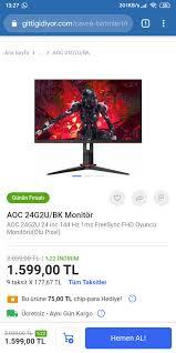 Aoc c24g2u/bk is also known as aoc c24g2u. Aoc 24g2u Olu Piksel 1599 Lira Sayfa 1 4