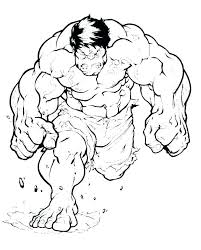 Coloring Pages Of Hulk Coloring Pages Hulk Free Page And To Print