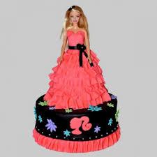 Wavy Dress Barbie Cake Wavy Dress Barbie Cake Is A Fondant And It