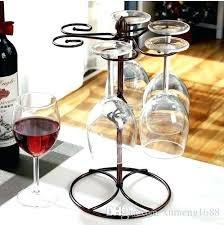 wine glass rack wine glass rack kitchen bar cup hanging holder metal goblet display stand drinking wine glass rack