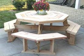 diy round outdoor table. Round Wood Outdoor Table Dining Diy Side D