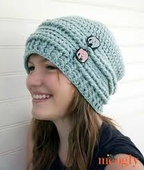 Hipster Beanie Crochet Pattern Adorable Crochet PATTERN Easy Crochet Pattern Crochet Slouchy Hat Pattern