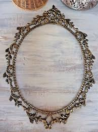 Antique oval frame ornate Transparent Background Vintage Brass Oval Picture Photo Frame La Rust Picclick Beautiful Vintage Oval Ornate Brass Photo Frame 1599 Picclick