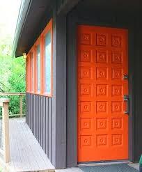 modern front door orange. Orange Door More Than Just A The Passage Cliff May Mid Century Modern Front Doors . E