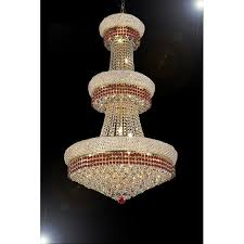 morrocan style lighting. French Empire Crystal Chandelier Moroccan Style Lighting Trimmed With Ruby  Red Morrocan Style Lighting