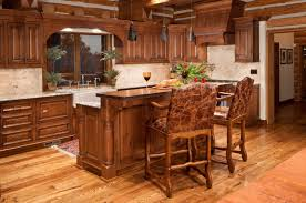 light hardwood floors in kitchen. Brilliant Light This Light Wood Floor Brightens Up The Dark Of These Cabinets While  Accenting Rustic And Light Hardwood Floors In Kitchen N