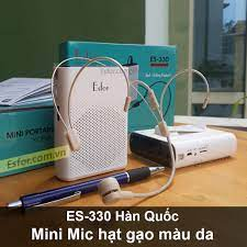 Máy trợ giảng Hàn Quốc Esfor ES330 mini (ES-330 có USB, thẻ nhớ, ghi âm,