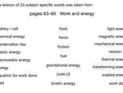 Word Models Word Models For Work And Energy Cgp Pp63 65