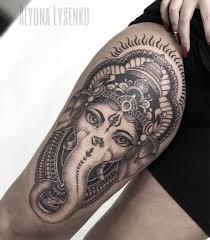 ганеши от алёны лысенко Odin Tattoo Studio