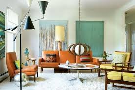 Retro Modern Living Room Style