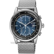 men s citizen mesh chronograph eco drive watch ca0331 56l mens citizen mesh chronograph eco drive watch ca0331 56l