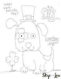 St Patricks Day Coloring St Patricks Day Coloring Page For Preschoolers Skip To My Lou