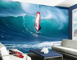 wall mural the surfer wallpaper wall