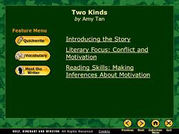 two kinds by amy tan introducing the story ppt  two kinds by amy tan introducing the story