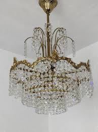 Details Zu 4 Fl Kronleuchter Lüster Lampe Deckenlampe Messing Kristall Chandelier