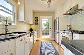 modern knobs and pulls kitchen traditional with black counters carpet runner image by katie hastings design llc