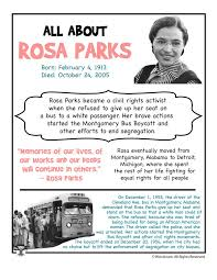 best rosa parks facts ideas facts about rosa rosa parks fact sheet
