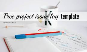 Free Issues Log Template For Your Projects Girls Guide To