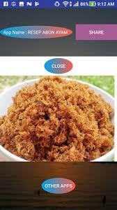 Resep abon ayam suwir bawang sederhana spesial pedas asli enak. Resep Abon Ayam For Android Apk Download