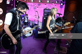 Nate McCoy, Casey Conrad, Kristen Kearns and Dustin McCoy of Darling...  News Photo - Getty Images