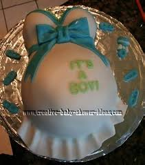 Pregnant Baby Shower Cake  Home Decorating Interior Design Bath Belly Cake For Baby Shower