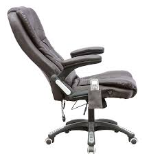 reclining office chair model. sentinel foxhunter 6 point massage office computer chair luxury leather swivel reclining model u