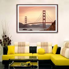 Free shipping on orders over $35. Golden Gate Bridge San Francisco California Canvas Poster Picture Wall Decor Ebay