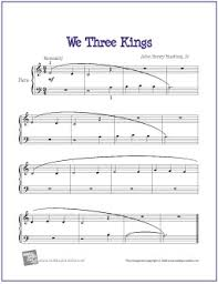 We Three Kings | Free printable sheet music, Printable sheet music ...