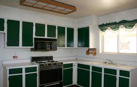 two tone painted kitchen cabinets ideas. Green And White Kitchen Two Tone Painted Cabinets Ideas