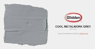 cool gray paint colorsCool Metalwork Grey Paint Color  Glidden Paint Colors
