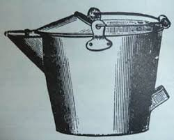 Image result for antique milk strainer pails with pouring spouts