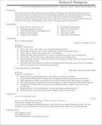 Cnc Machine Operator Resume Examples Samples Application Engineer ...