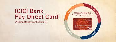 icici bank paydirect card
