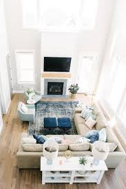 Living Room Rug Placement Beauteous Pin By Hello Allison On HOME Modern Farmhouse Pinterest Living